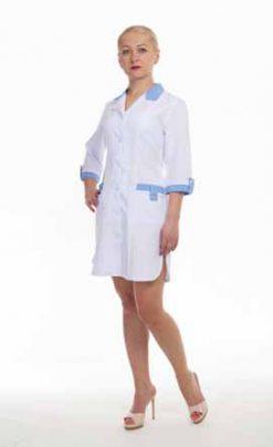Жіночий медичний халат 1104