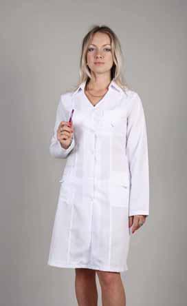 Жіночий медичний халат 1107