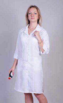 Жіночий медичний халат 1120