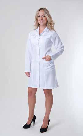 Жіночий медичний халат 1124