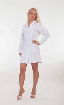 Жіночий медичний халат 1129