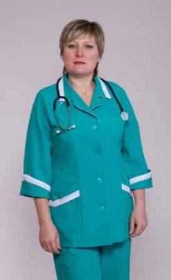 Жіночий медичний костюм 1206