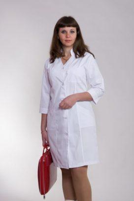 Жіночий медичний халат 2108