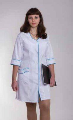 Жіночий медичний халат 2109