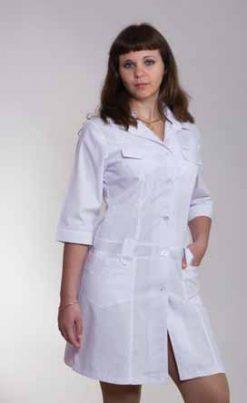 Жіночий медичний халат 2111