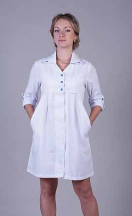 Жіночий медичний халат 2117