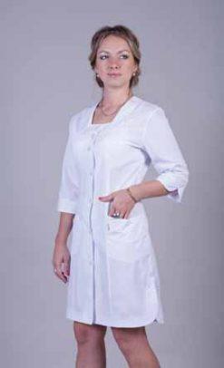 Жіночий медичний халат 2119