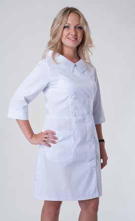 Жіночий медичний халат 2124