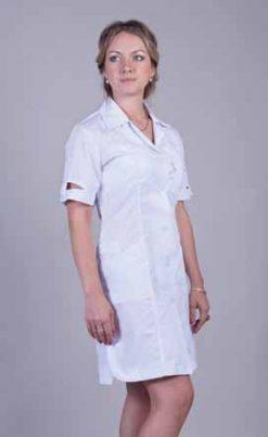 Жіночий медичний халат 2128