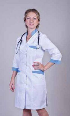 Жіночий медичний халат 2130