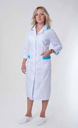Жіночий медичний халат 2133
