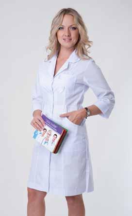 Жіночий медичний халат 2135