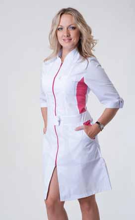 Жіночий медичний халат 2136