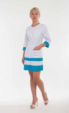 Жіночий медичний халат 2141