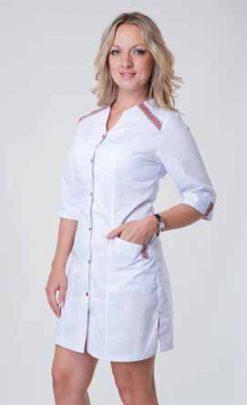 Жіночий медичний халат 2142