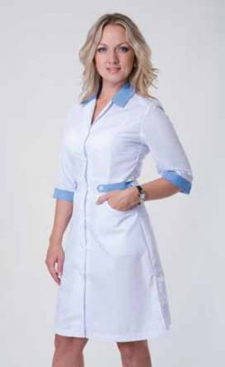 Жіночий медичний халат 2145