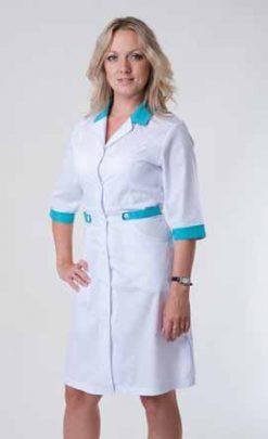Жіночий медичний халат 2146