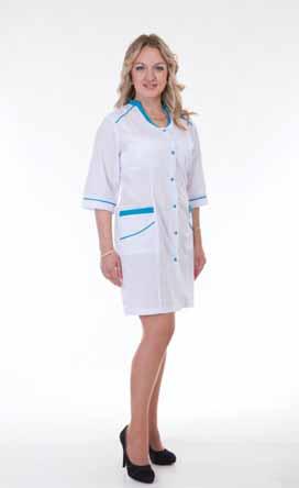 Жіночий медичний халат 2150