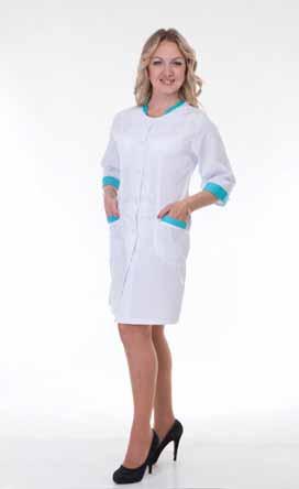 Жіночий медичний халат 2151