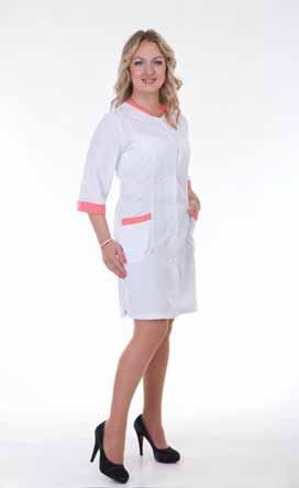 Жіночий медичний халат 2152