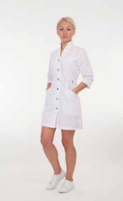 Жіночий медичний халат 2154