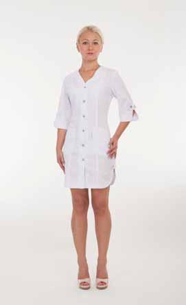 Жіночий медичний халат 2155