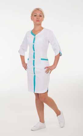Жіночий медичний халат 2160