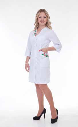 Жіночий медичний халат 2161