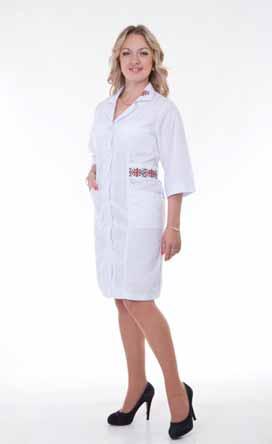 Жіночий медичний халат 2164