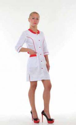 Жіночий медичний халат 2166