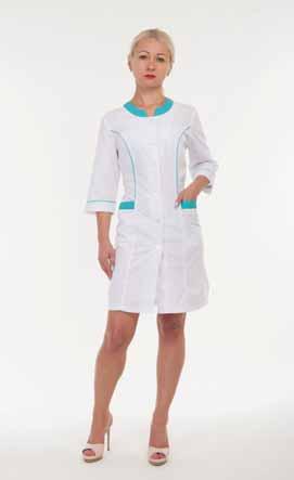 Жіночий медичний халат 2167