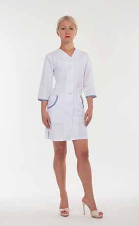 Жіночий медичний халат 2168