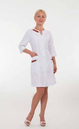 Жіночий медичний халат 2173