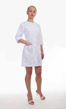 Жіночий медичний халат 2180