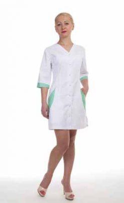 Жіночий медичний халат 2182