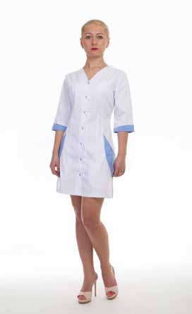 Жіночий медичний халат 2183