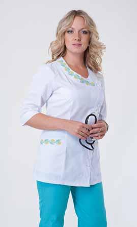 Жіночий медичний костюм 2254