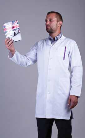 Чоловічий медичний халат 3107