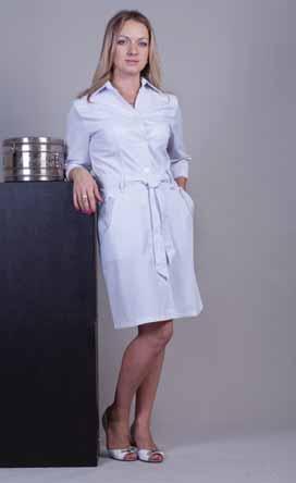 Жіночий медичний халат 3109