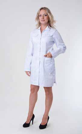Жіночий медичний халат 3112
