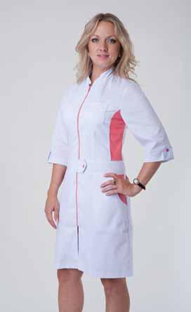 Жіночий медичний халат 3113