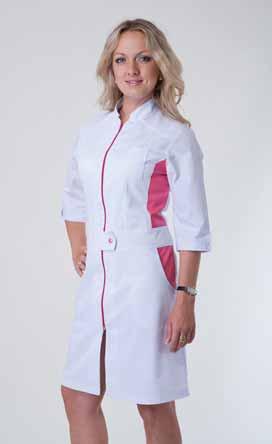 Жіночий медичний халат 3114