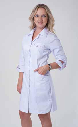 Жіночий медичний халат 3116