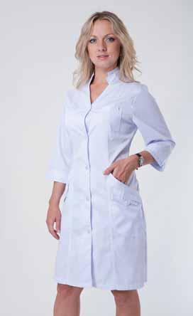 Жіночий медичний халат 3118