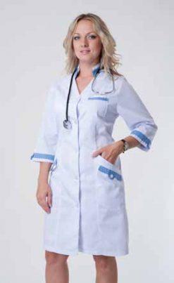 Жіночий медичний халат 3119
