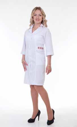 Жіночий медичний халат 3123