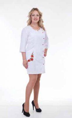 Жіночий медичний халат 3126