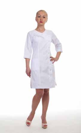 Жіночий медичний халат 3129