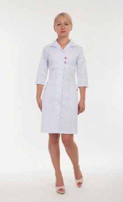 Жіночий медичний халат 3131