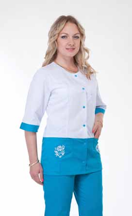 Жіночий медичний костюм 3227